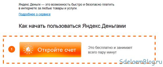 Как зарегистрироваться в платежной системе Яндекс Деньги.