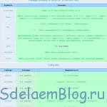 Таблица универсальных атрибутов применяемых в HTML.